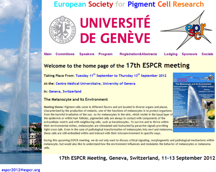 17th ESPCR Meeting web site launched: Registration OPEN