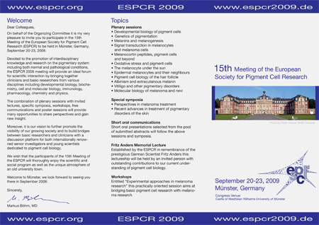 ESPCR 2009 meeting