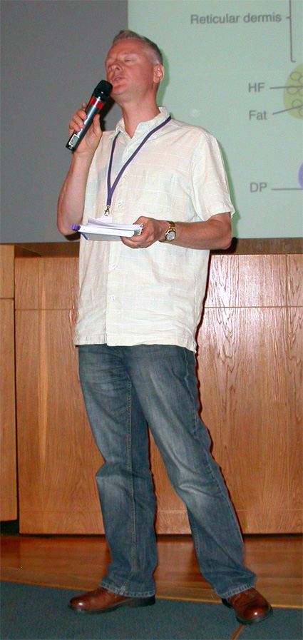 Robert Kelsh, Chair of the ESPCR 2010 Meeting
