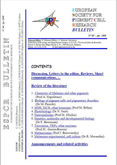 ESPCR bulletin