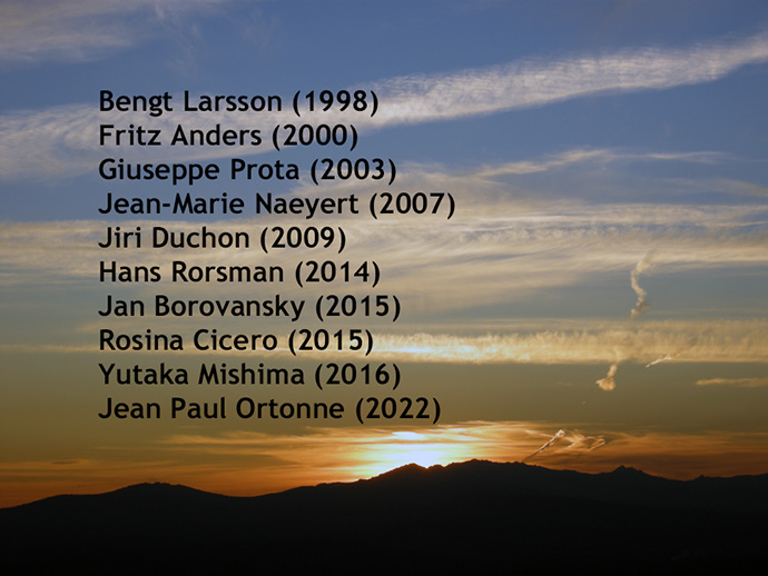 Remembering those former ESPCR Members that have left us...