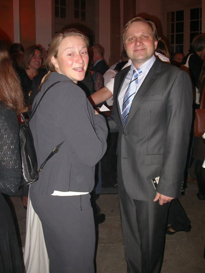 Markus Böhm and Tanja Böhm